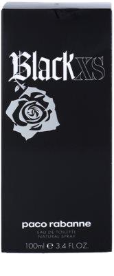 Paco Rabanne XS Black Eau de Toilette pentru barbati 4