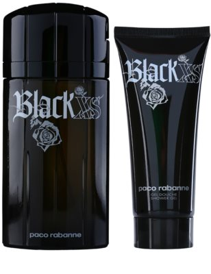 Paco Rabanne XS Black dárková sada 1
