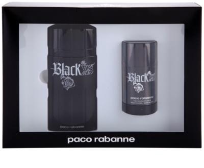 Paco Rabanne XS Black dárková sada