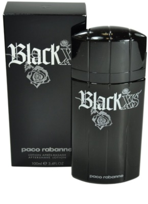 Paco Rabanne XS Black after shave para homens