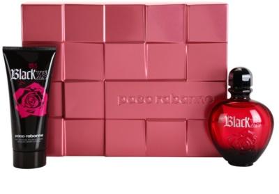 Paco Rabanne XS Black for Her ajándékszettek