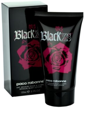 Paco Rabanne XS Black for Her leite corporal para mulheres