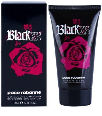 Paco Rabanne XS Black for Her gel de duche para mulheres