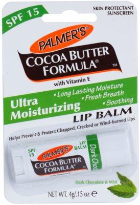 Palmer's Face & Lip Cocoa Butter Formula feuchtigkeitsspendendes Lippenbalsam SPF 15