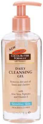 Palmer's Face & Lip Cocoa Butter Formula Ulei de curatare pentru ochi, buze si piele fara parfum