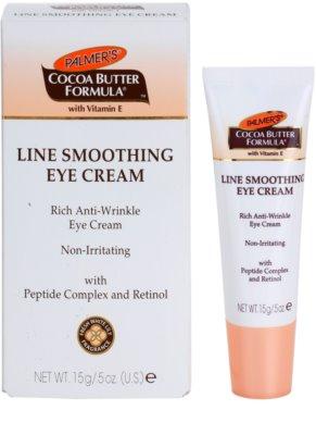 Palmer's Face & Lip Cocoa Butter Formula Augencreme gegen Falten 1