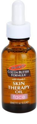 Palmer's Face & Lip Cocoa Butter Formula óleo de cuidado anti-idade de pele