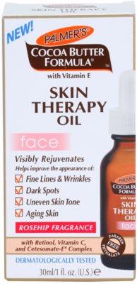 Palmer's Face & Lip Cocoa Butter Formula negovalno olje proti staranju kože 2