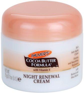 Palmer's Face & Lip Cocoa Butter Formula erneuernde Nachtcreme gegen Hautalterung