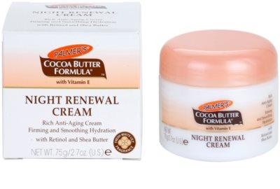 Palmer's Face & Lip Cocoa Butter Formula creme de noite renovador anti-idade de pele 2