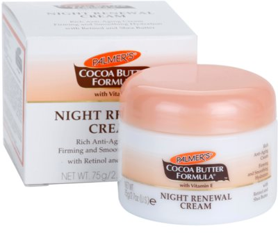 Palmer's Face & Lip Cocoa Butter Formula creme de noite renovador anti-idade de pele 3