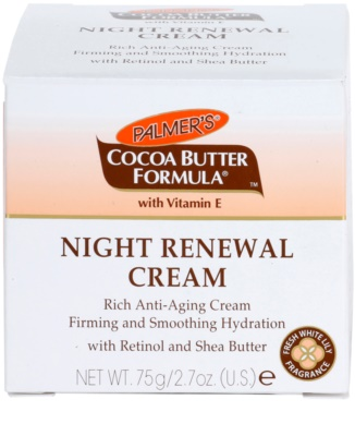 Palmer's Face & Lip Cocoa Butter Formula creme de noite renovador anti-idade de pele 4