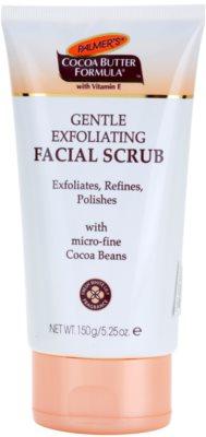 Palmer's Face & Lip Cocoa Butter Formula exfoliante facial suave