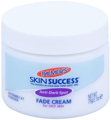 Palmer's Face & Lip Skin Success crema de albire pentru petele pigmentare pentru ten gras