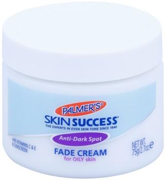 Palmer's Face & Lip Skin Success világosító krém a pigmentfoltokra zsíros bőrre
