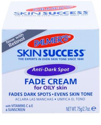 Palmer's Face & Lip Skin Success aufhellende Creme gegen Pigmentflecken für fettige Haut 3