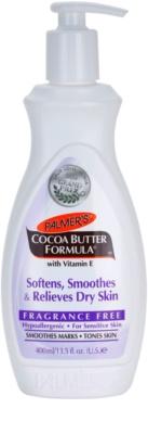 Palmer's Hand & Body Cocoa Butter Formula омекотяващ балсам за тяло изглаждаш сухата кожа без парфюм