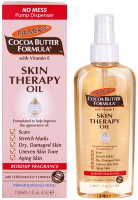 Palmer's Hand & Body Cocoa Butter Formula multifunkčný suchý olej na telo a tvár s vôňou šípok 1