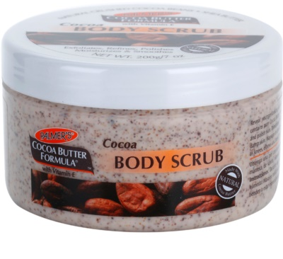 Palmer's Hand & Body Cocoa Butter Formula piling za telo z vlažilnim učinkom