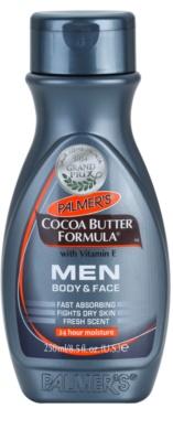 Palmer's Men Cocoa Butter Formula зволожуючий крем для обличчя та тіла з вітаміном Е