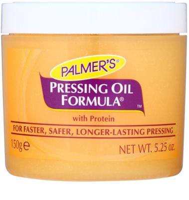 Palmer's Hair Pressing Oil Formula захисний догляд для блиску та розгладження волосся після впливу високих температур