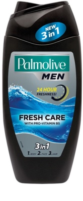 Palmolive Men Fresh Care gel za prhanje za moške 3v1