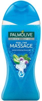Palmolive Aroma Sensations Feel The Massage gel de duche com efeito peeling