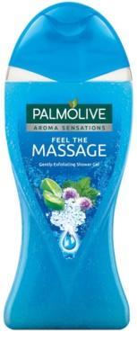Palmolive Aroma Sensations Feel The Massage gel de dus cu efect exfoliant