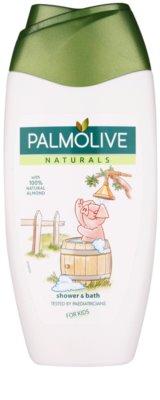 Palmolive Naturals Kids tusoló- és fürdőgél gyermekeknek