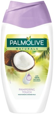 Palmolive Naturals Pampering Touch leite de duche com coco