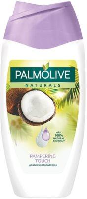 Palmolive Naturals Pampering Touch losjon za prhanje s kokosom