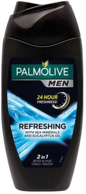 Palmolive Men Refreshing żel pod prysznic dla mężczyzn 2w1