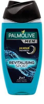 Palmolive Men Revitalising Sport gel de ducha para hombre 2 en 1