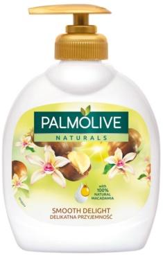 Palmolive Naturals Smooth Delight flüssige Seife für die Hände mit Pumpe