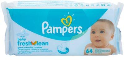 Pampers Baby Fresh Clean очищуючі серветки для дітей