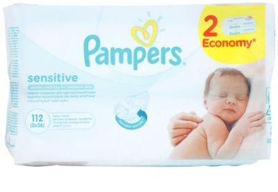 Pampers Sensitive почистващи кърпички