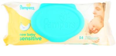 Pampers New Baby Sensitive дитячі вологі серветки