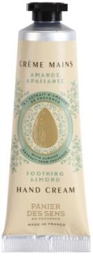 Panier des Sens Almond crema de manos calmante