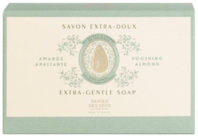 Panier des Sens Almond extra gyengéd natúr szappan