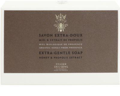 Panier des Sens Honey antiseptické extra jemné mydlo 2