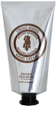 Panier des Sens Lavender relaxáló krém kézre