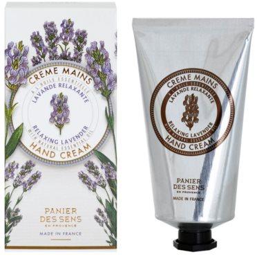 Panier des Sens Lavender relaxáló krém kézre 1
