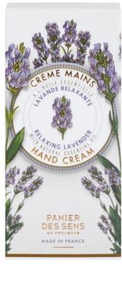 Panier des Sens Lavender relaxáló krém kézre 2