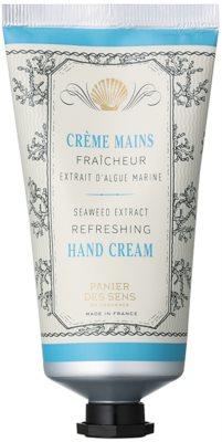 Panier des Sens Mediterranean Freshness krém na ruce s extrakty z mořských řas