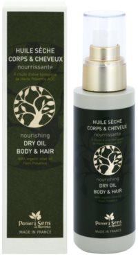 Panier des Sens Olive aceite seco nutritivo para cara, cuerpo y cabello 1