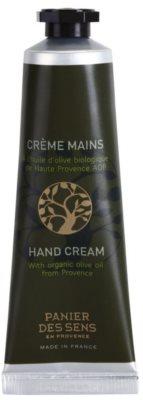 Panier des Sens Olive nährende Creme für die Hände