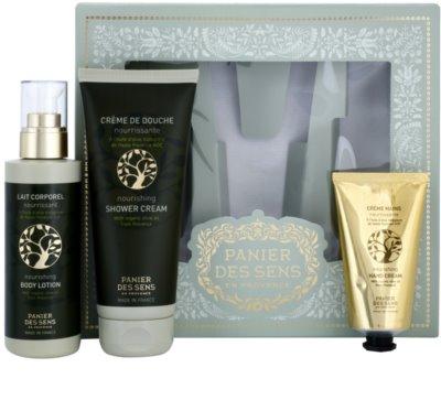 Panier des Sens Olive Kosmetik-Set  I. 1