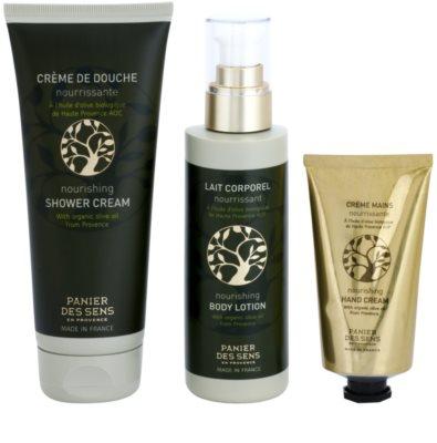 Panier des Sens Olive Kosmetik-Set  I. 2