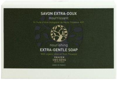 Panier des Sens Olive extra jemné výživné mýdlo 2