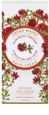 Panier des Sens Red Thyme povzbudzujúci krém na ruky 2